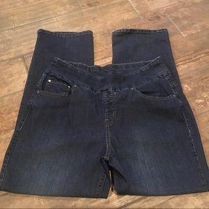 WinterSilks Pull On Women's Jeans - 14